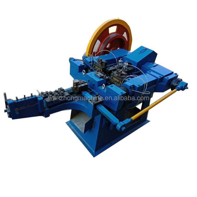 automatic wire steel nail making machine factory price
