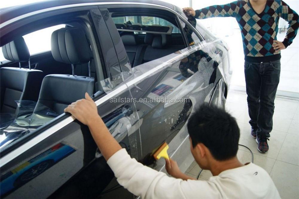 Ppf auto paint protection vinyl film for car wrapping for Car paint protection film cost
