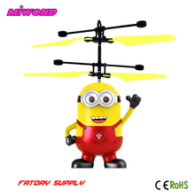 USB Rechargeable Hand Sensor Toys For Kids Flying Minions Flying Toy Wholesale