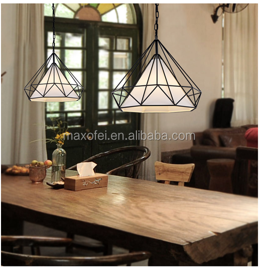 Fancy design cool pendant <strong>lights</strong> creative iron loft hanging lamp