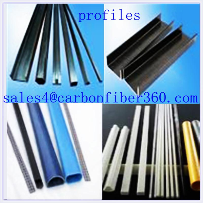 C forma del perfil en forma de u de perfiles de tubo de - Tubos fibra de vidrio ...