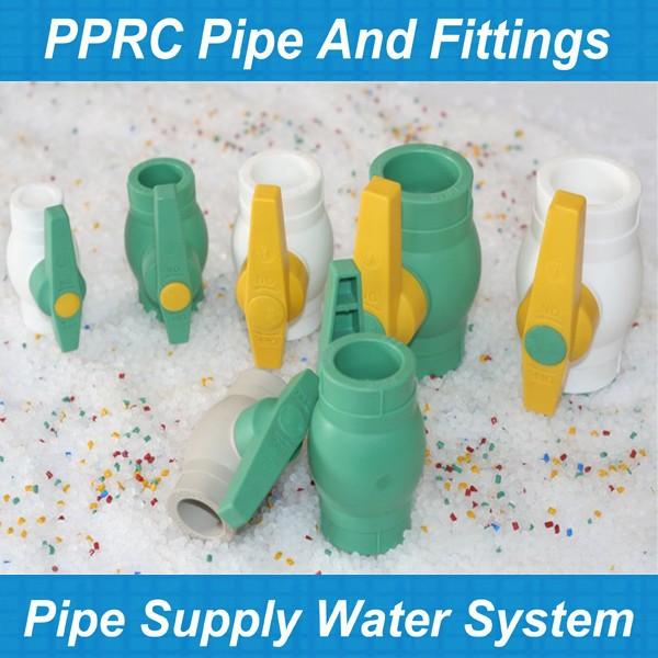 Su ana boru malzeme pph borular ve ba lant par alar ppr for Water main pipe material