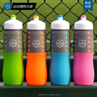 600ml Folder Silicone Leak-proof Water Bottle for Outdoor Sport Camping Travel