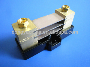 Acid wash DC shunt resistor accuracy class 0.5 with base