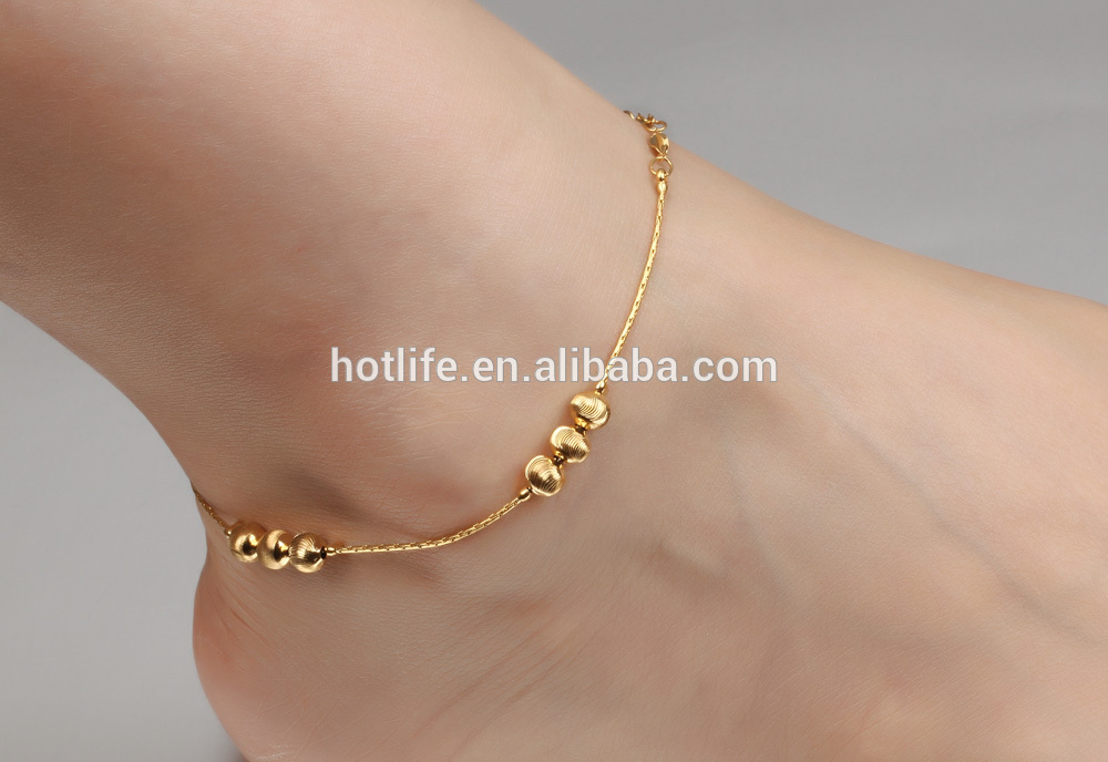 for detail women gold dubai fashion design jewelry product supplier anklet anklets