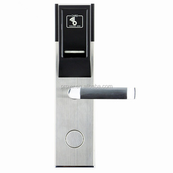 Rf Card Hotel Key Card Reader Door Lock Digital Door Lock Software - Buy  Hotel Key Card Lock,Hotel Key Card Lock,Hotel Card Reader Door Lock Product