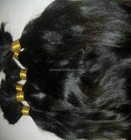 100% temple virgin indian remy hair bulk