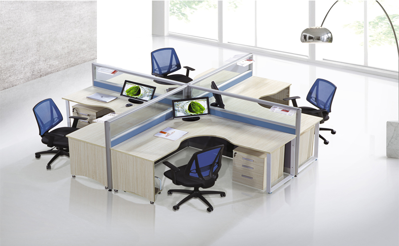 Office Table With Partition