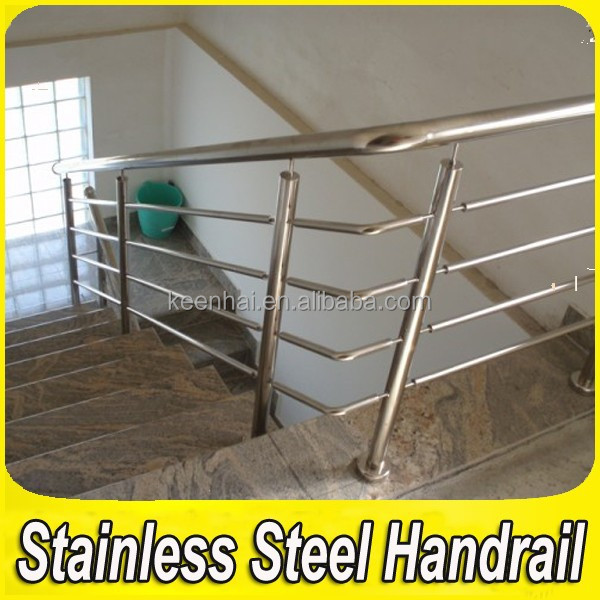 304 roestvrij staal trap leuning pijp interieur ontwerpen - Trap ontwerpen ...