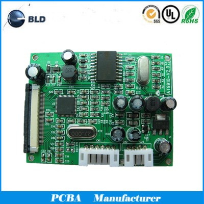 Access control main board Fr4 94V0 multilayer pcb pcba manufacturer in shenzhen
