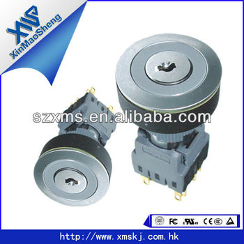 22mm/16mm Key Switch Button 2 Position Momentary Push Button Switch - Buy  Push Button Switch 22mm,3 Position Switch,Selector Switch Product on