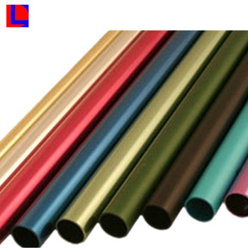 Color Anodized Extruded Aluminium Pole Buy Aluminium