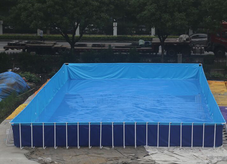 Original manufacturer amusement steel frame above ground for Above ground pool manufacturers