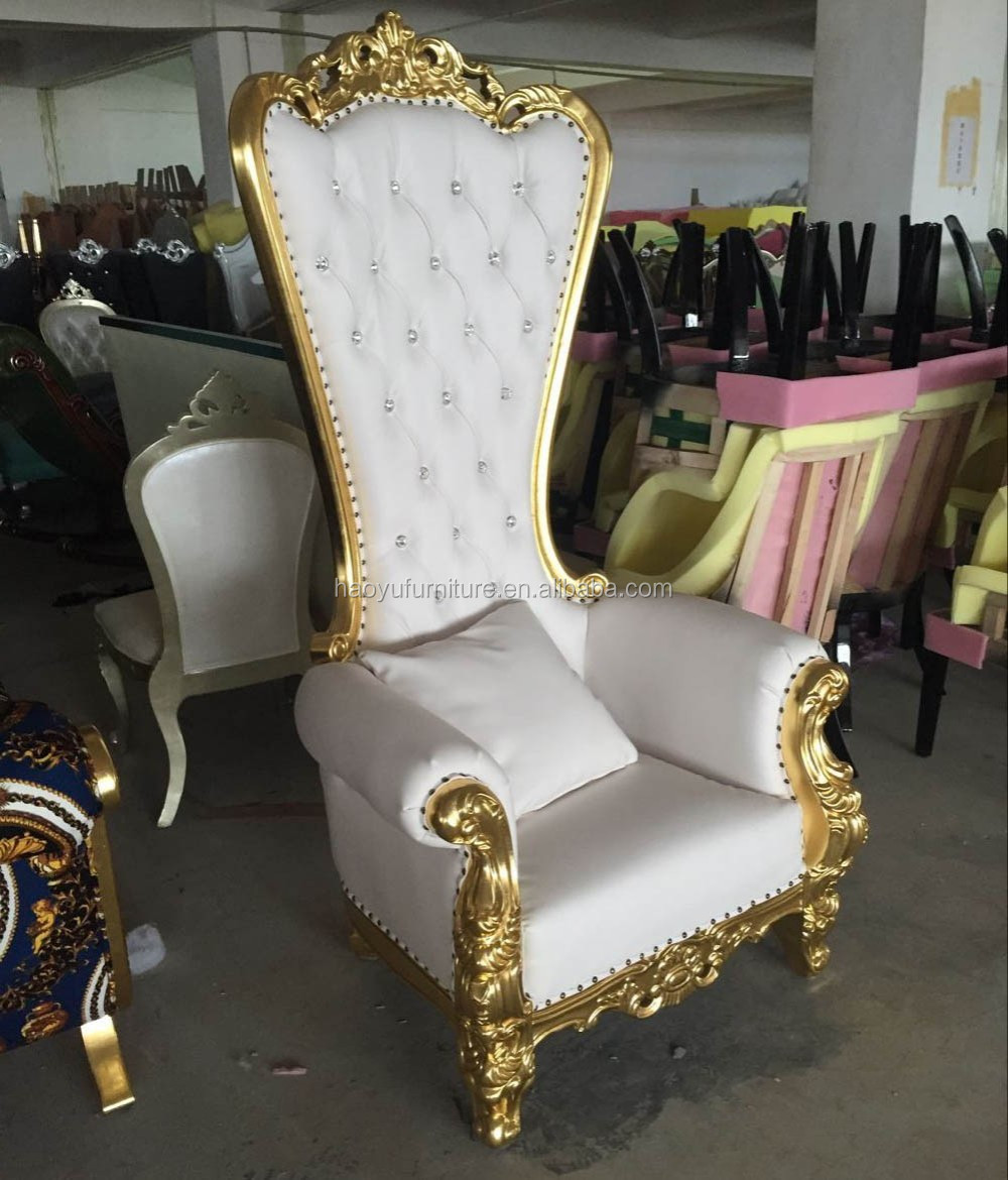 Buy Cheap Chairs: Lc92 Cheap King Throne Chair Golden Antique Throne Chairs