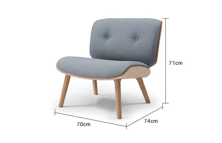 Muebles para el hogar moderno réplica silla tuerca sillón con ...