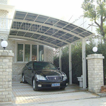 Garden Furniture Aluminum Carport With Arched Roof Buy