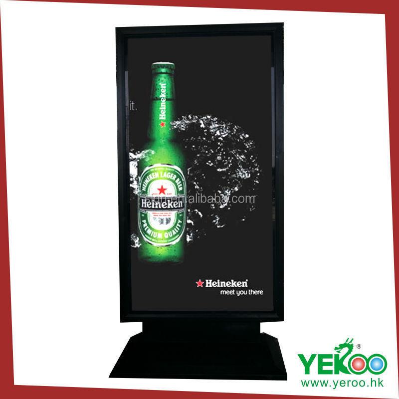 Menu Design Magnetic Frames With Black Light Menu Board