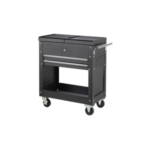 Light slide tool cabinet trolley with hanging plate for garage