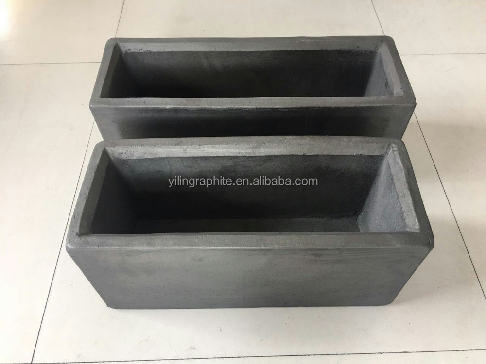 High purity gold ingot casting graphite mold