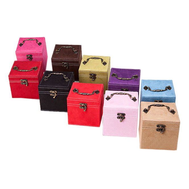 Wholesale Cheap Price Low MOQ Jewelry Storage Box Travel Jewelry and Accessories Organizer