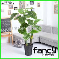 18 leaves quality real touch artificial plants and trees