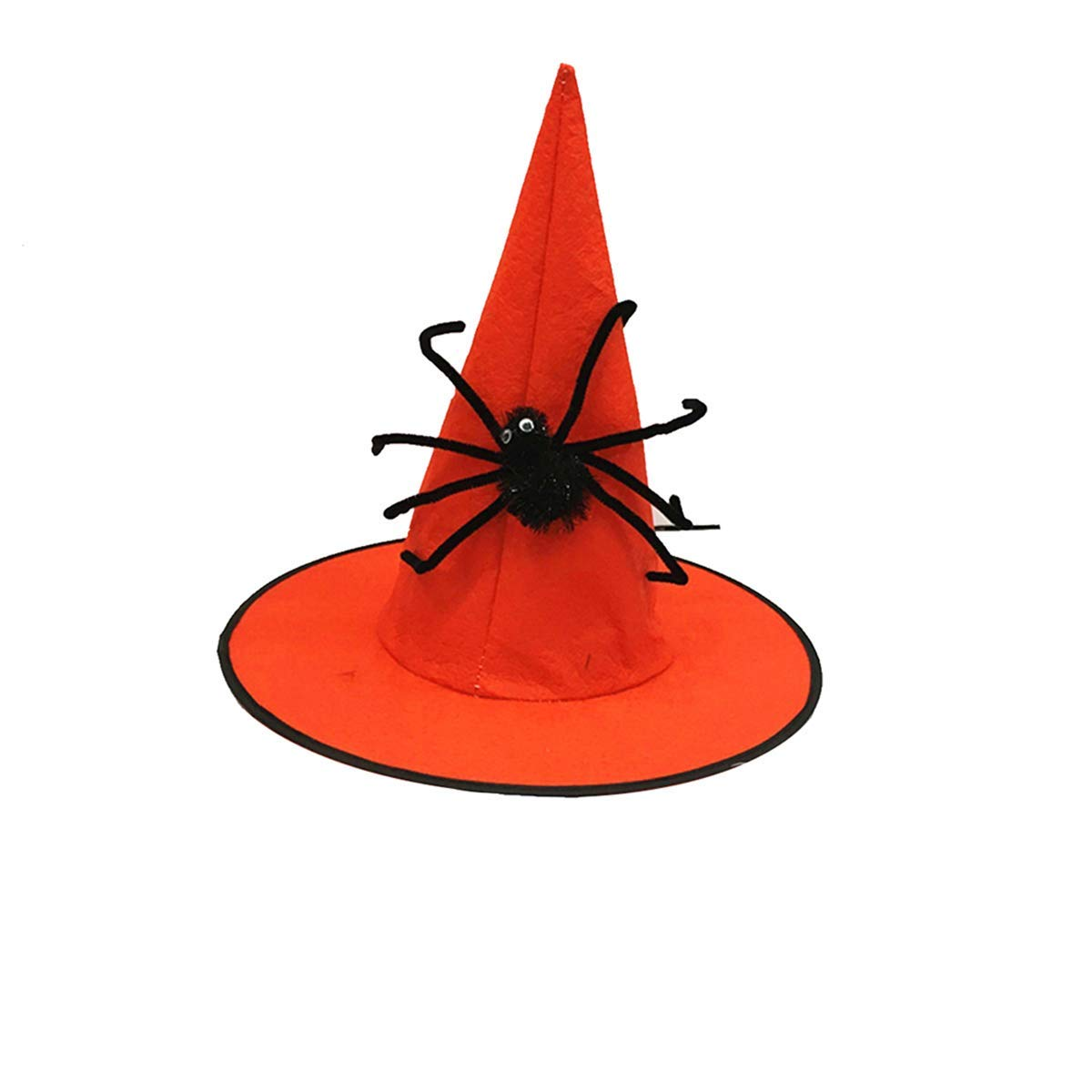 7bdb9b73ffd Get Quotations · Amosfun Witch Hat Halloween Wizard Hat Costume Dressing Up  Cosplay Roleplay Stage Performance Accessory Halloween Costumes