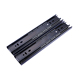 Jieyang hardware 45mm telescopic drawer channel king slide drawer slides