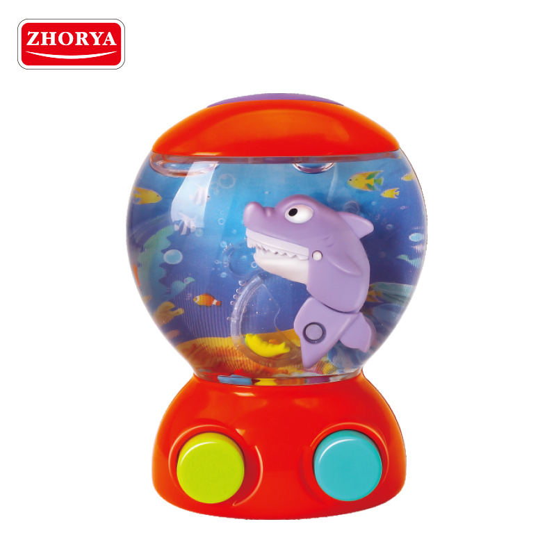 Zhorya Classic escape shark ring toss funny water game toy for baby