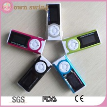Hot Selling Clip USB LCD MP3 Music Player With LED Light/Mini Clip Design Digital MP3 Player Music Player