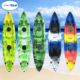wholesale popular 2 person kayak sale plastic canoe