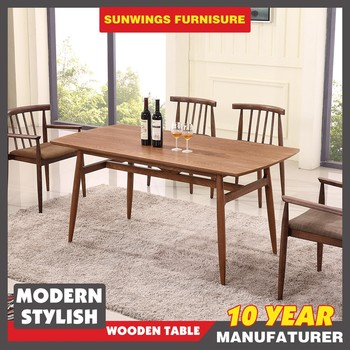 Hot Sale Best Price Fashion Wooden Dining Table In Pakistan