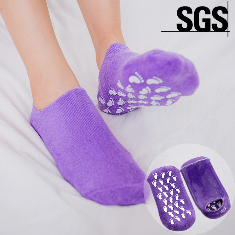 Skin Treatment Moisture Spa Gel Sock Foot Mask Sock For Personal Care