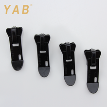 YAB Buy Cheap Goods ISO9001 Customized Logo Made Luggage Zipper Plastic Slider Puller