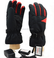 7.4V 2200mAh Rechargeable Lithium Battery Operated Waterproof Windproof Man Heated Gloves Motorcycle