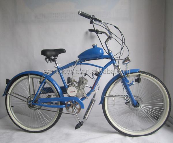 26 Inch Custom Chopper Beach Cruiser Gas Motor Bike Gas