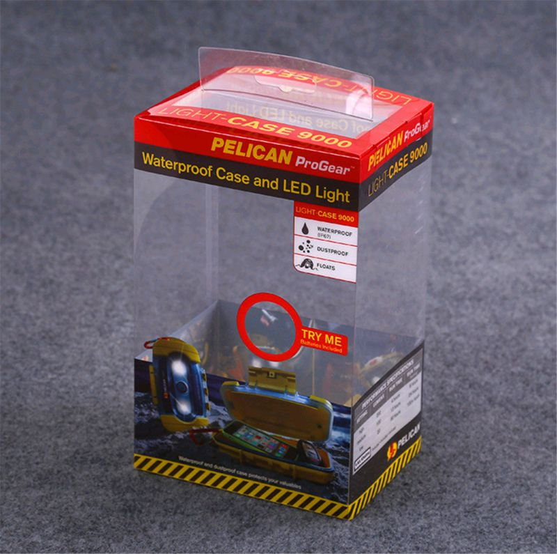 PVC/PP/PET Packaging Clear Plastic Box For Baby Products clear package box