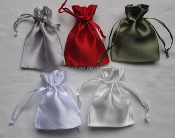 customized package wedding gift bags wine bottle pouch satin bag