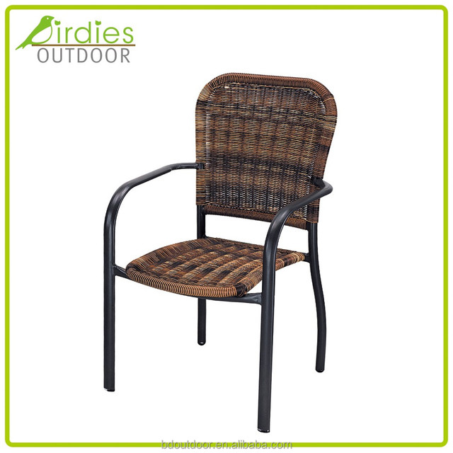 Modern Leisure Design Garden Furniture Woven Rattan Chairs