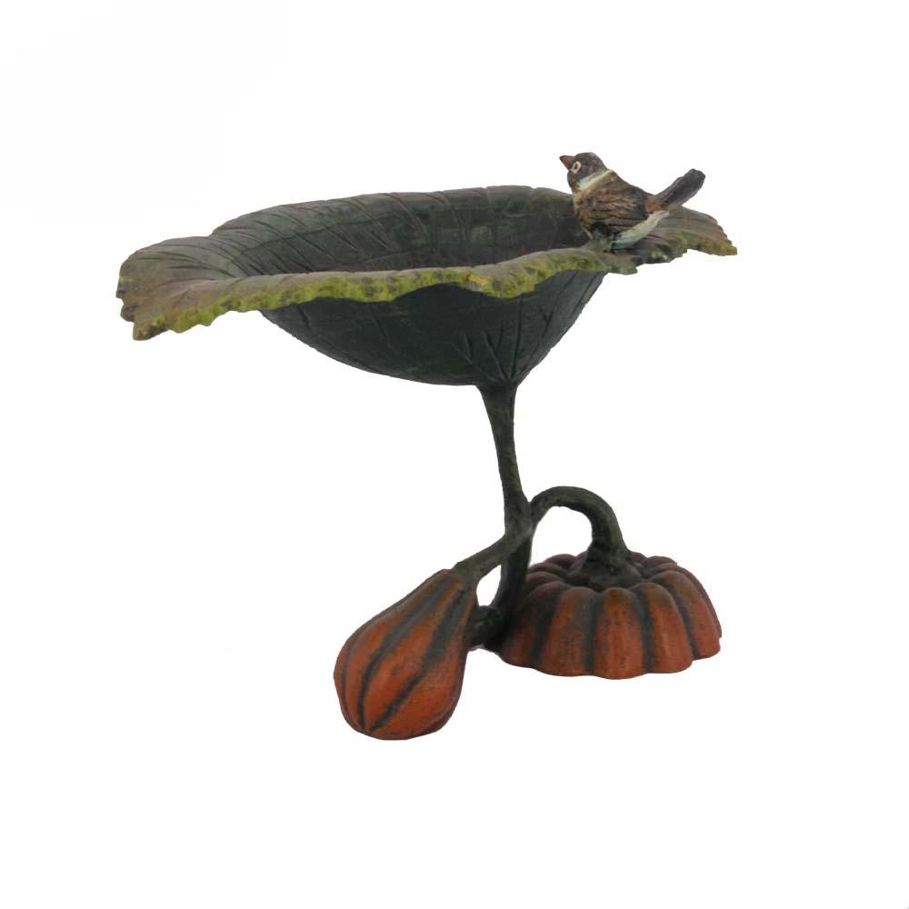 Garden Decor Handmade Antique Cast Iron Bird Bath Metal Feeder Product On Alibaba