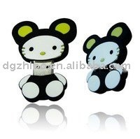 animal usb flash memory drive disk/cute cat u disk