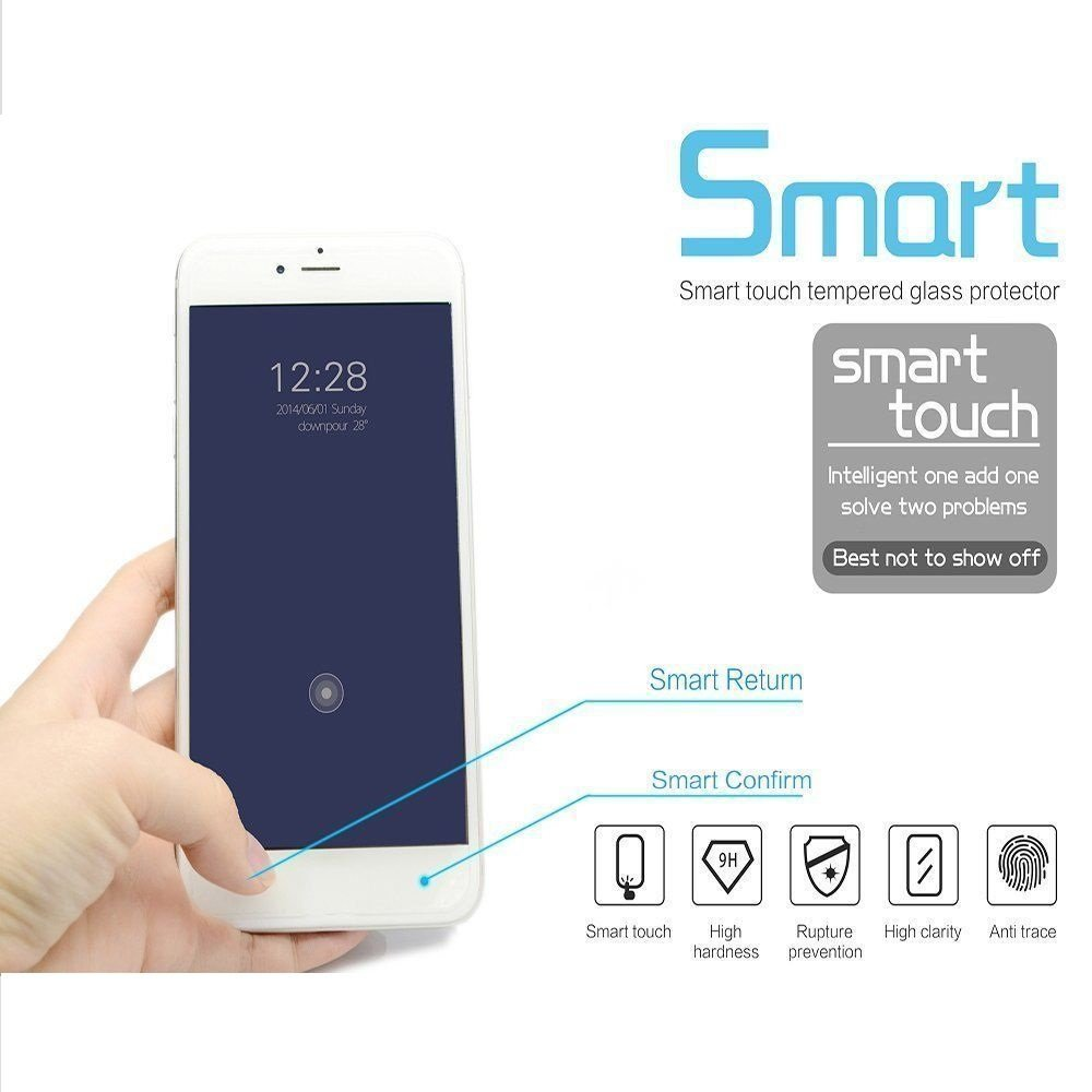 """For Apple iPhone 7 PLUS Magic Smart Touch Button Tempered Glass Screen Protector with Smart [Return Key] & [Confirm Key] 5.5"""""""