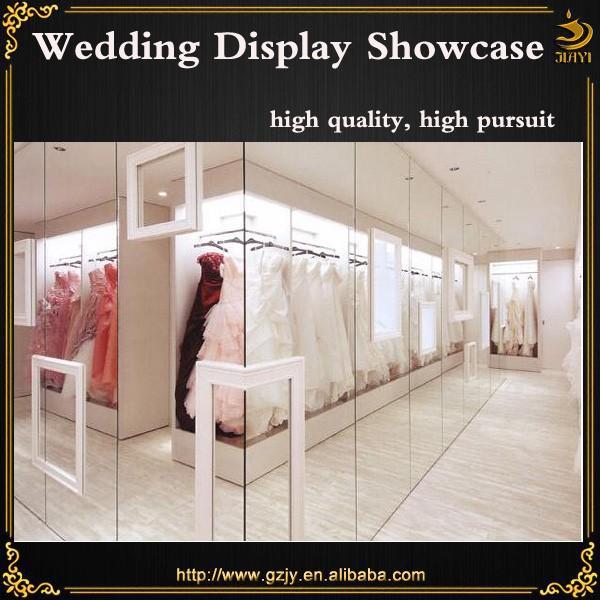 c7b9e60c3c70e 2016 moda merkezi kiosk gelinlik dükkanı tasarım ve elbise için ekran standı