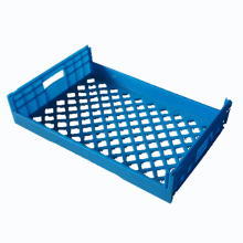 690 x 445 x 180mm 100% virgin HDPE plastic bread crate