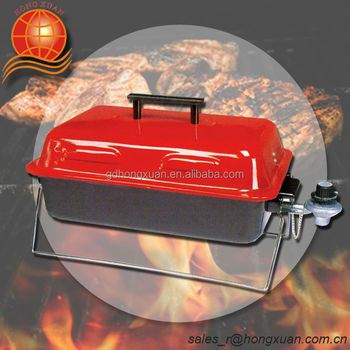 Square Portable Barbecue Grill Folding Charcoal Amp Gas Bbq