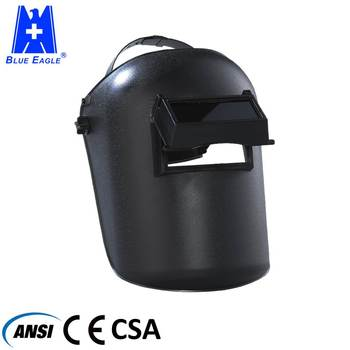CE EN175 Approval PP Material custom welding shield helmet