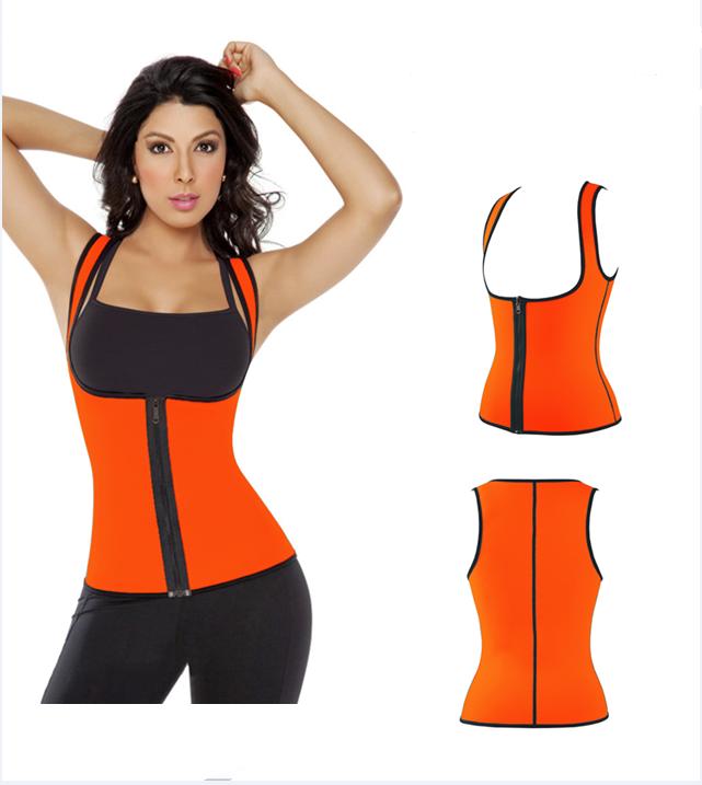 5 colours Waist Sauna Sweat Suit Shaper Vest Tank for Women sport Wear Top