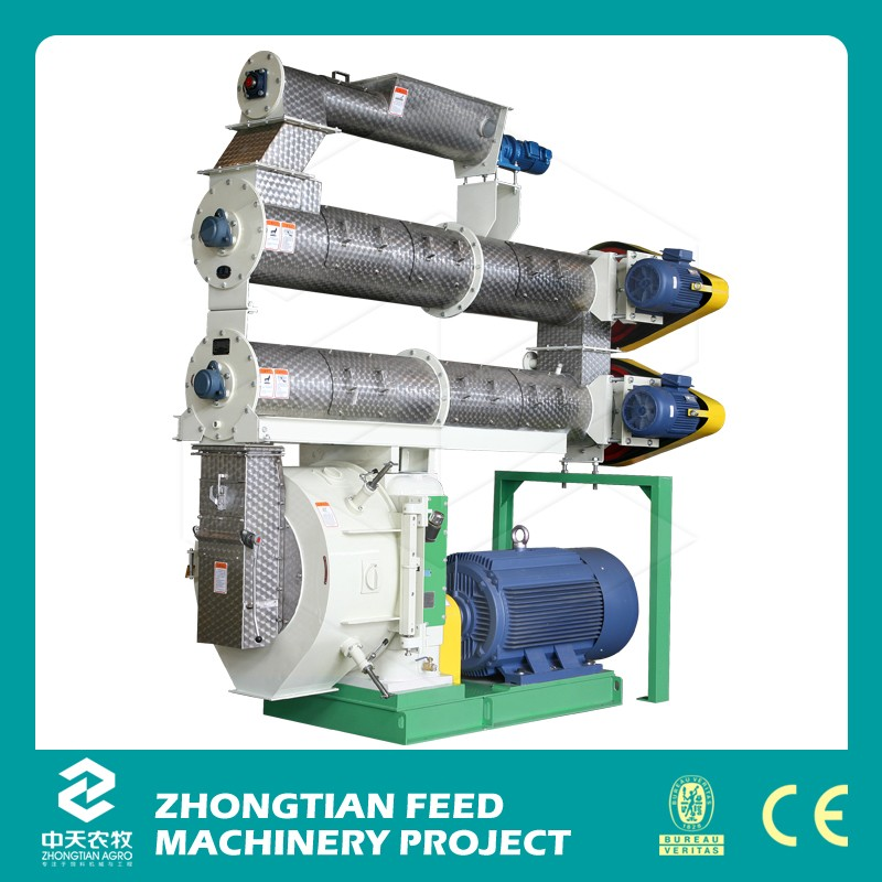 2016 high efficient poultry feed pellet machine /egg chicken feed mill
