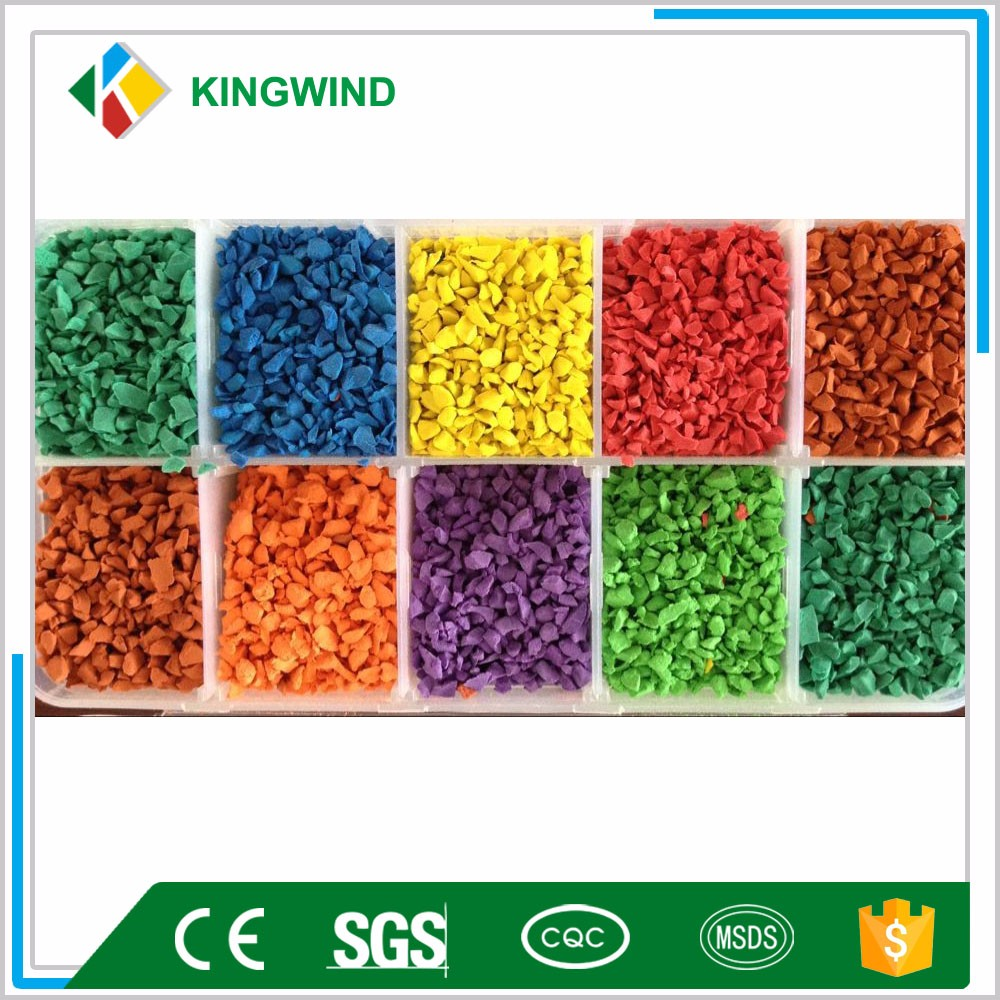 Dyed Epdm Rubber Granules For Sport Field