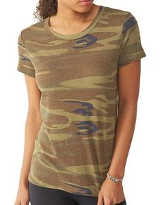 Wholesale Camo T Shirts Slim Fit T Shirts For Women