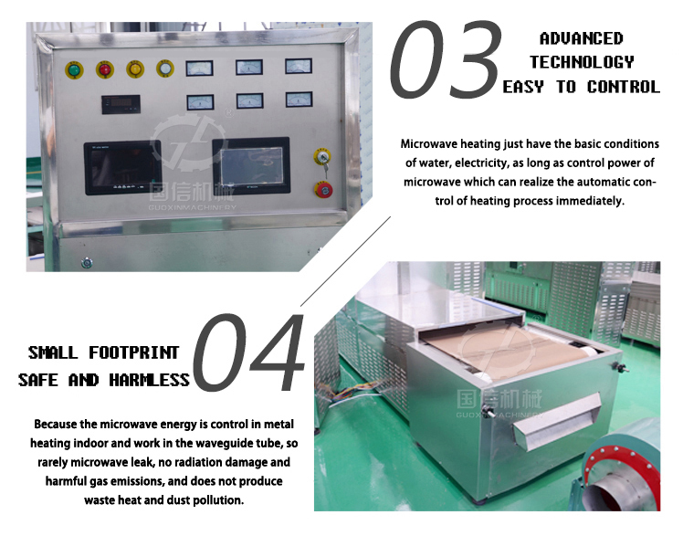 Machinery Fruit And Vegetable Processing Line Microwave Oven Dryer Machine